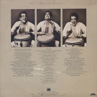 Ray Barretto / Can You Feel It back