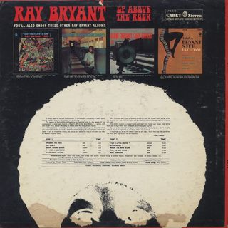 Ray Bryant / Up Above The Rock back