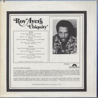 Roy Ayers Ubiquity / Change Up The Groove back
