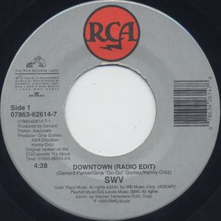 SWV / Downtown c/w Right Here/Human Nature