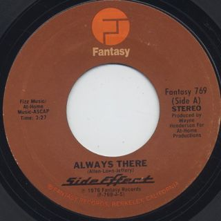 Side Effect / Always There c/w Be Bop Rock