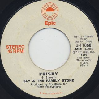 Sly & The Family Stone / Frisky