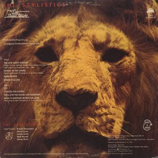 Stylistics / The Lion Sleeps Tonight back