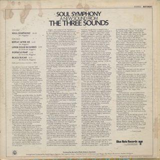 Three Sounds / Soul Symphony back