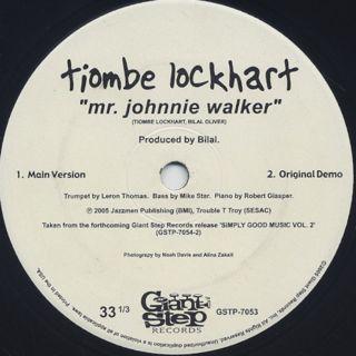 Tiombe Lockhart / Mr. Johnnie Walker (7