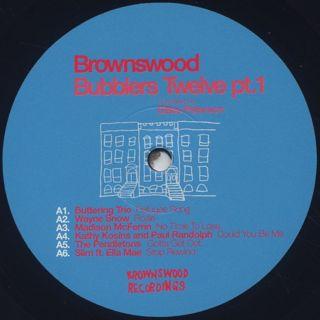 V.A. / Brownswood Bubblers Twelve Pt.1 label