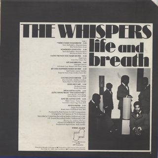 Whispers / Life And Breath back