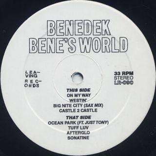 Benedek / Bene's World label