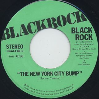 Blackrock / New York City Bump