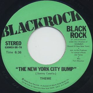 Blackrock / New York City Bump back