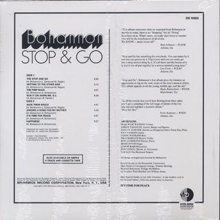 Bohannon / Stop & Go back