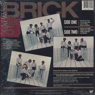 Brick / After 5 back