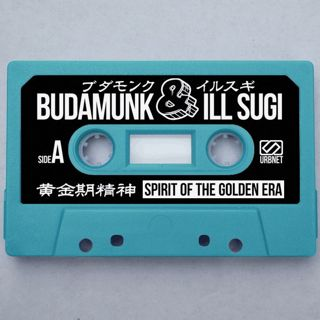 Budamunk & ill Sugi / Spirit Of The Golden Era (Cassette - Blue) back