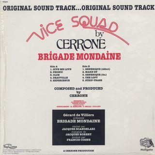 Cerrone / Brigade Mondaine back