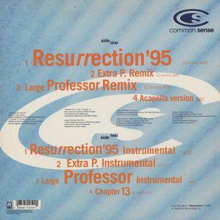 Common Sense / Resurrection back
