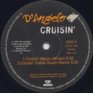 D'Angelo / Crusin' label
