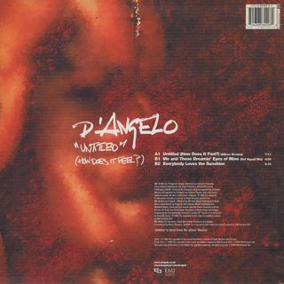 D'Angelo / Untitled (How Does It Feel?) back