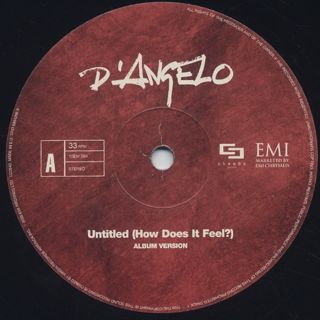 D'Angelo / Untitled (How Does It Feel?) label