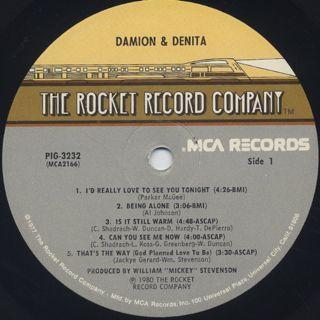 Damion & Denita / Damion & Denita label
