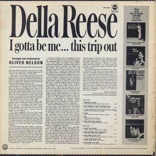 Della Reese /  I Gotta Be Me...This Trip Out back