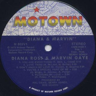 Diana Ross & Marvin Gaye / Diana & Marvin label