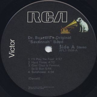 Dr.Buzzard's Original Savannah Band / S.T. label