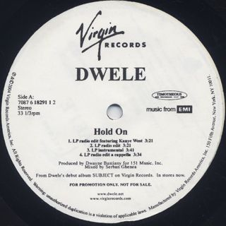Dwele / Hold On