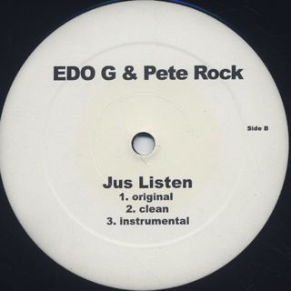 Edo G & Pete Rock / Shed A tear back