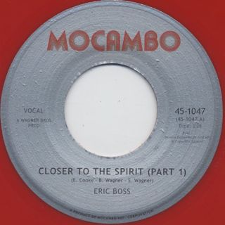 Eric Boss / Closer To The Spirit
