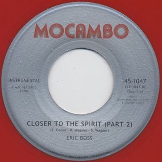 Eric Boss / Closer To The Spirit back