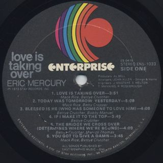 Eric Mercury / Love Is Talking Over label