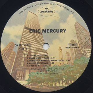 Eric Mercury / S.T. label