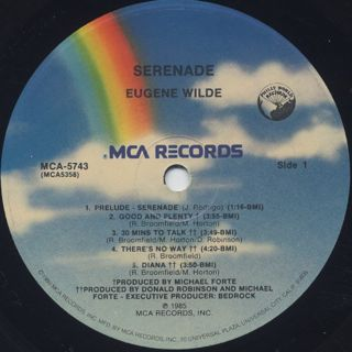 Eugene Wilde / Serenade label