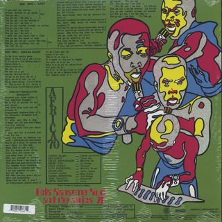 Fela Ransome Kuti and The Africa 70 / Shakara (Re) back