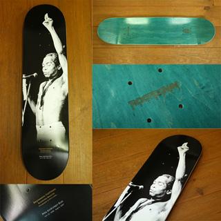 Fela Kuti / Black President Skate Deck (Size 8.0 x 31.625) back