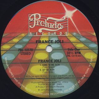 France Joli / S.T. label