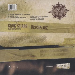 Gang Starr feat.Total / Discipline back