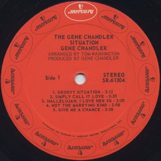 Gene Chandler / The Gene Chandler Situation label