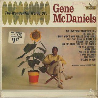 Gene McDaniels / The Wonderful World Of: Gene McDaniels