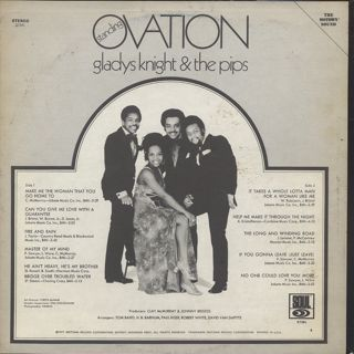 Gladys Knight & The Pips / Standing Ovation back
