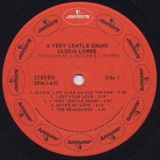 Gloria Lynne / Very Gentle Sound label