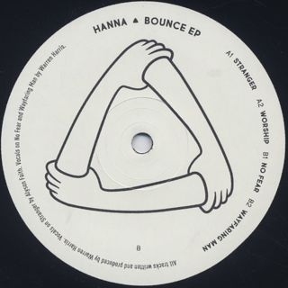 Hanna / Bounce EP label