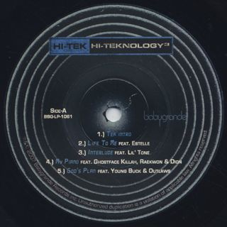 Hi-Tek / Hi-Teknology 3 label