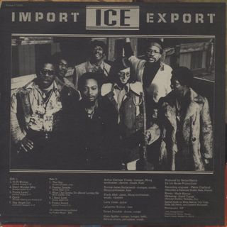 Ice / Import Export back