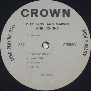 Isley Bros & Marvin and Johnny / S.T. label