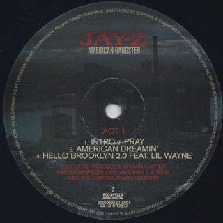 Jay-Z / American Gangster label