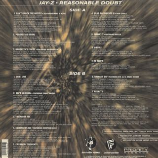 Jay-Z / Reasonable Doubt back