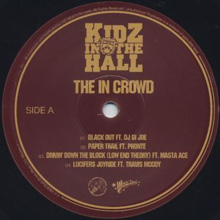 Kidz In The Hall / The In Crowd label