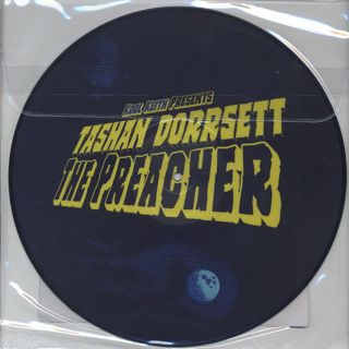 Kool Keith Presents Tashan Dorrsett / The Preacher (Picture Vinyl) back