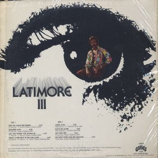 Latimore / III back